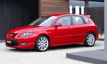2008 Mazda Speed 3, 5 passenger sedan (670)