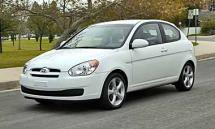 2009 Hyundai Accent GS 3-door (754)
