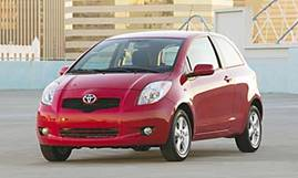 2007 Toyota Yaris 3-Door Liftback (607)