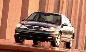 1999 Daewoo Leganza 4-door sedan