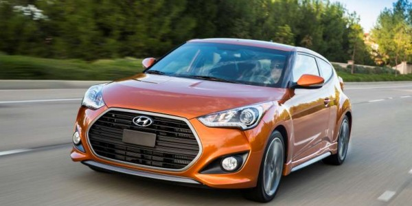 1150 Hyundai Veloster front side